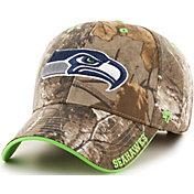 '47 Men's Seattle Seahawks Frost Realtree Adjustable Camouflage Hat