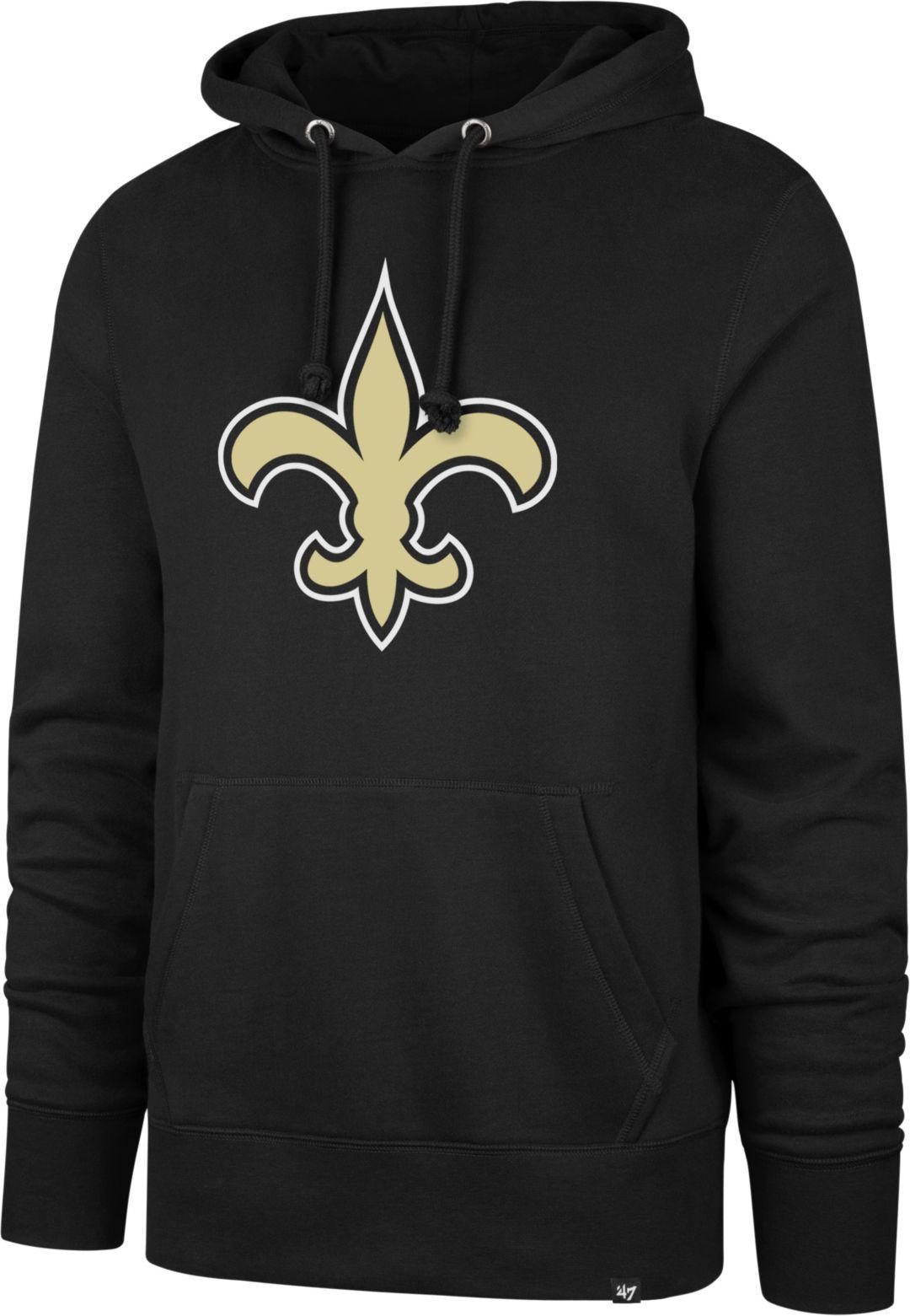 47 Men S New Orleans Saints Headline Black Hoodie
