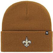 '47 Men's New Orleans Saints Carhartt Brown Knit Hat