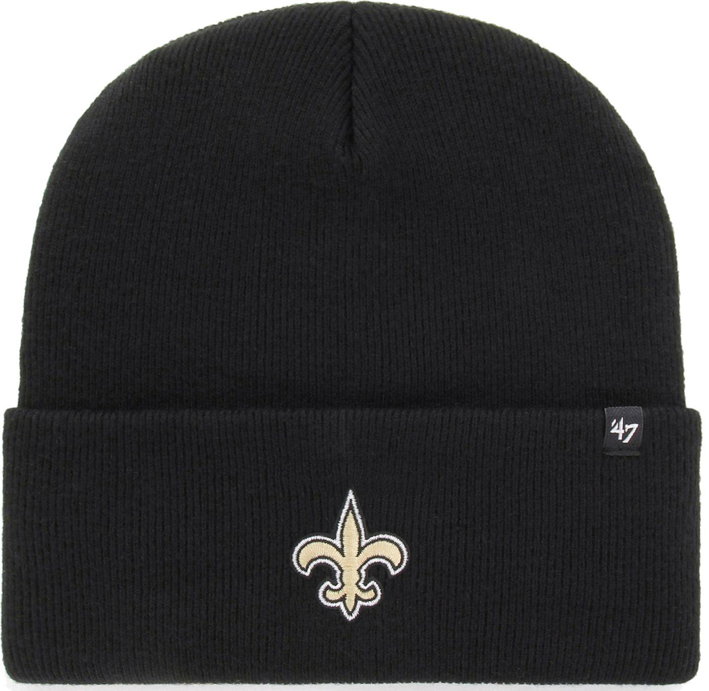 '47 Men's New Orleans Saints Carhartt Black Knit Hat