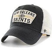 '47 Men's New Orleans Saints Crawford Clean Up Adjustable Black Hat
