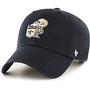 b30c8b489689d1 Product Image · '47 Men's New Orleans Saints Legacy Clean Up Adjustable  Black Hat. '