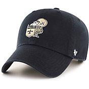 '47 Men's New Orleans Saints Legacy Clean Up Adjustable Black Hat