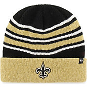 '47 Men's New Orleans Saints Rotation Black Cuffed Knit