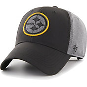 '47 Men's Pittsburgh Steelers Arlo MVP Adjustable Black Hat