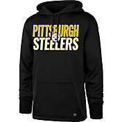 '47 Men's Pittsburgh Steelers Tech Fleece Black Performance Hoodie