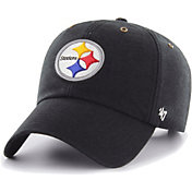'47 Men's Pittsburgh Steelers Carhartt Clean Up Adjustable Black Hat