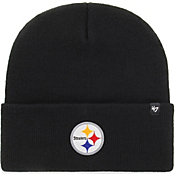 '47 Men's Pittsburgh Steelers Carhartt Black Knit Hat