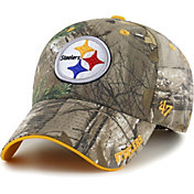 '47 Men's Pittsburgh Steelers Frost Realtree Adjustable Camouflage Hat