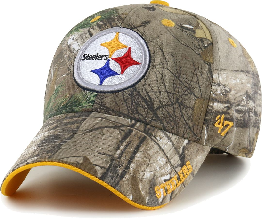 aa9718f3 '47 Men's Pittsburgh Steelers Frost Realtree Adjustable Camouflage Hat