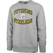 '47 Men's Pittsburgh Steelers Headline Grey Crew