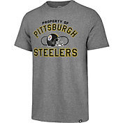 '47 Men's Pittsburgh Steelers Match Grey T-Shirt