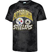 '47 Men's Pittsburgh Steelers Tubular Tie Dye T-Shirt