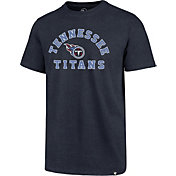 '47 Men's Tennessee Titans Club Arch Navy T-Shirt