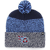 '47 Men's Tennessee Titans Static Cuffed Navy Knit