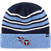 '47 Men's Tennesee Titans Rotation Navy Cuffed Knit
