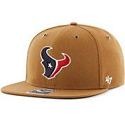 '47 Men's Houston Texans Carhartt Captain Adjustable Brown Hat