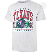 '47 Men's Houston Texans Tubular Grey T-Shirt