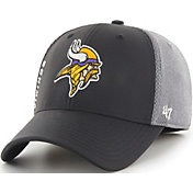 '47 Men's Minnesota Vikings Wycliff Contender Stretch Fit Black Hat