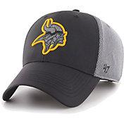 '47 Men's Minnesota Vikings Arlo MVP Adjustable Black Hat
