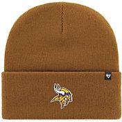 '47 Men's Minnesota Vikings Carhartt Brown Knit Hat