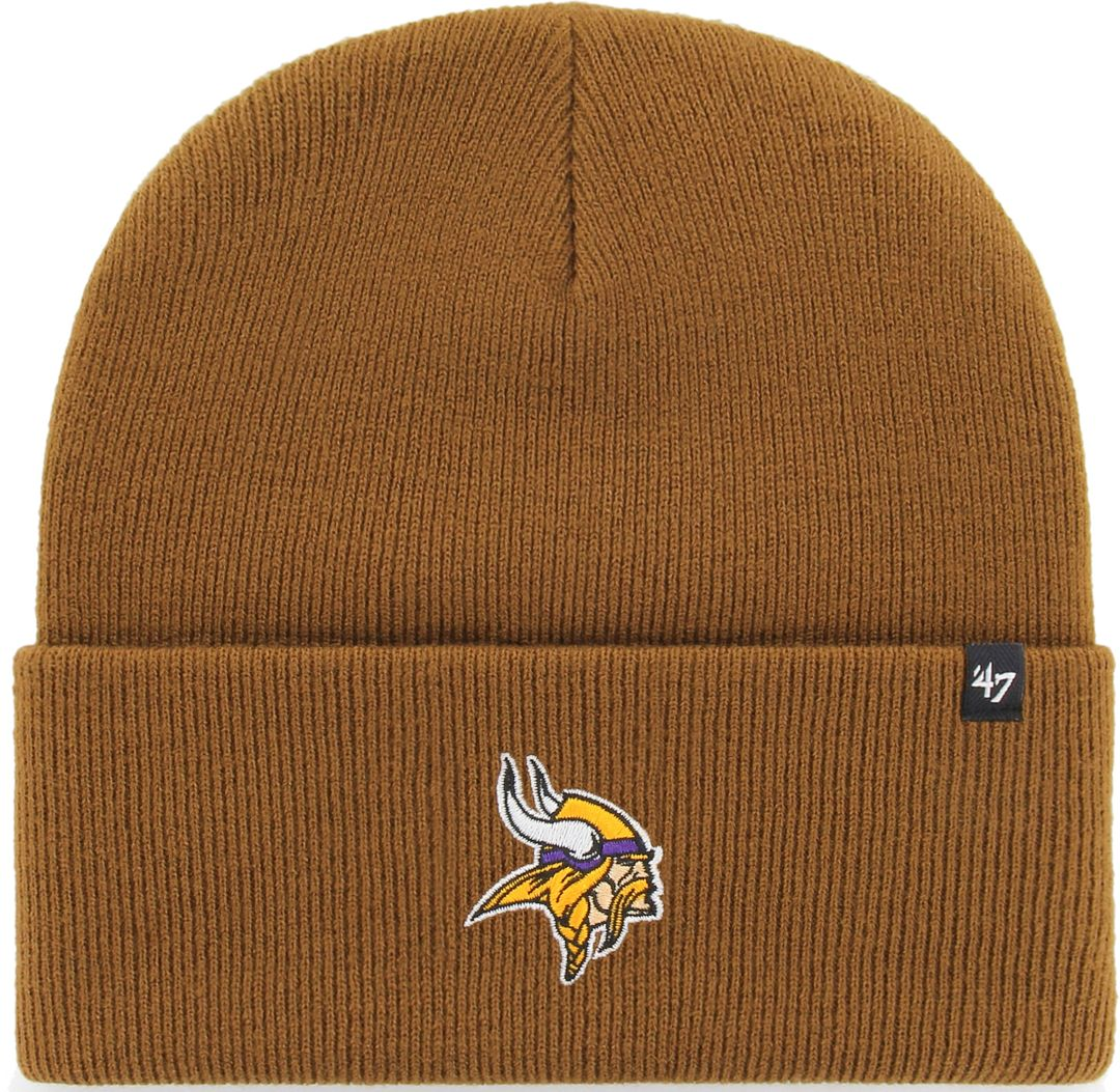 the best attitude f47b5 9327b '47 Men's Minnesota Vikings Carhartt Brown Knit Hat