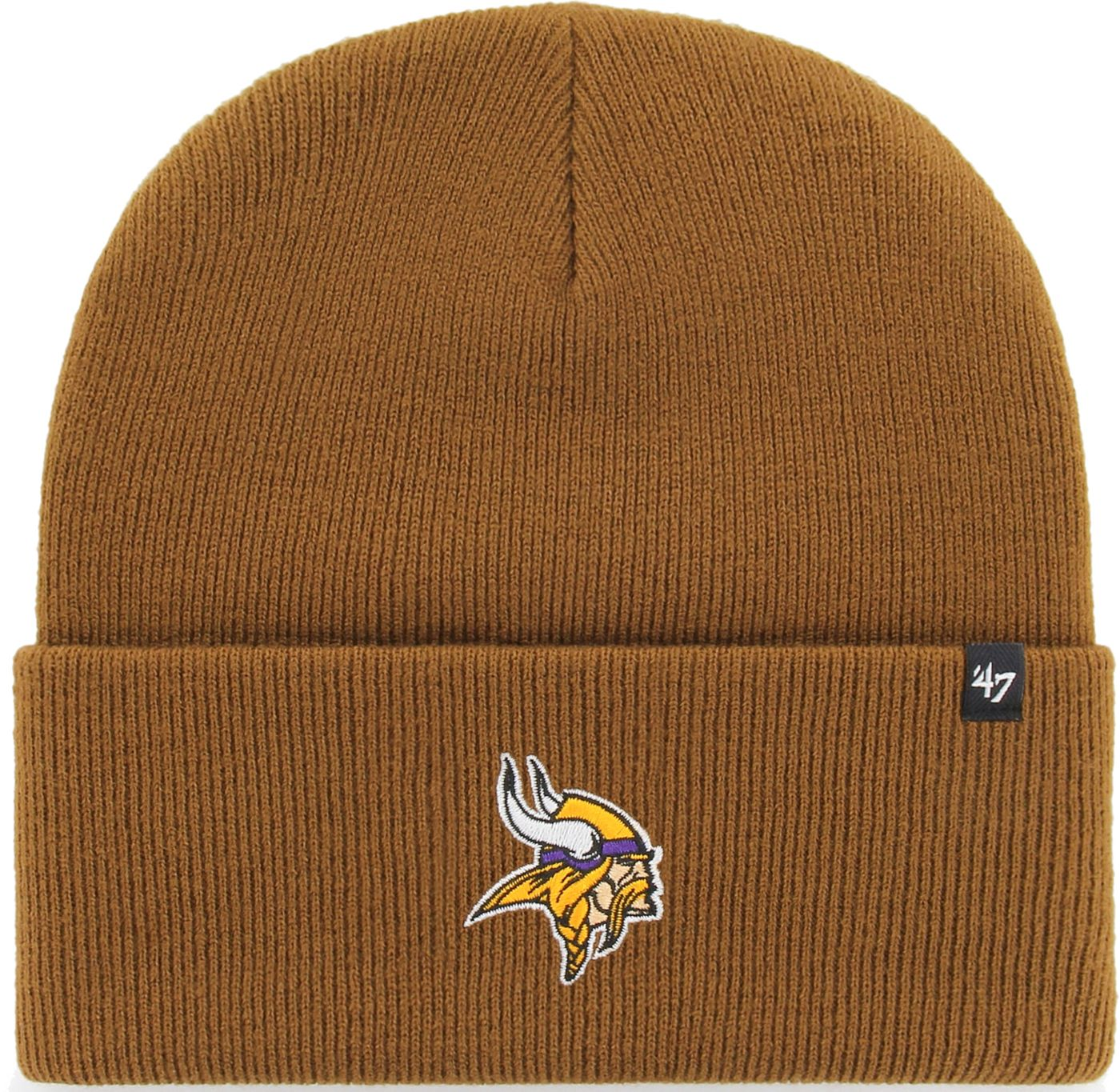 '47 Men's Minnesota Vikings Carhartt Brown Knit Hat