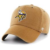 '47 Men's Minnesota Vikings Carhartt Clean Up Adjustable Brown Hat