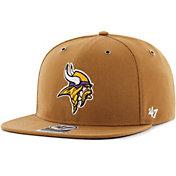 '47 Men's Minnesota Vikings Carhartt Captain Adjustable Brown Hat