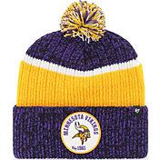 '47 Men's Minnesota Vikings Holcomb Purple Cuffed Pom Knit