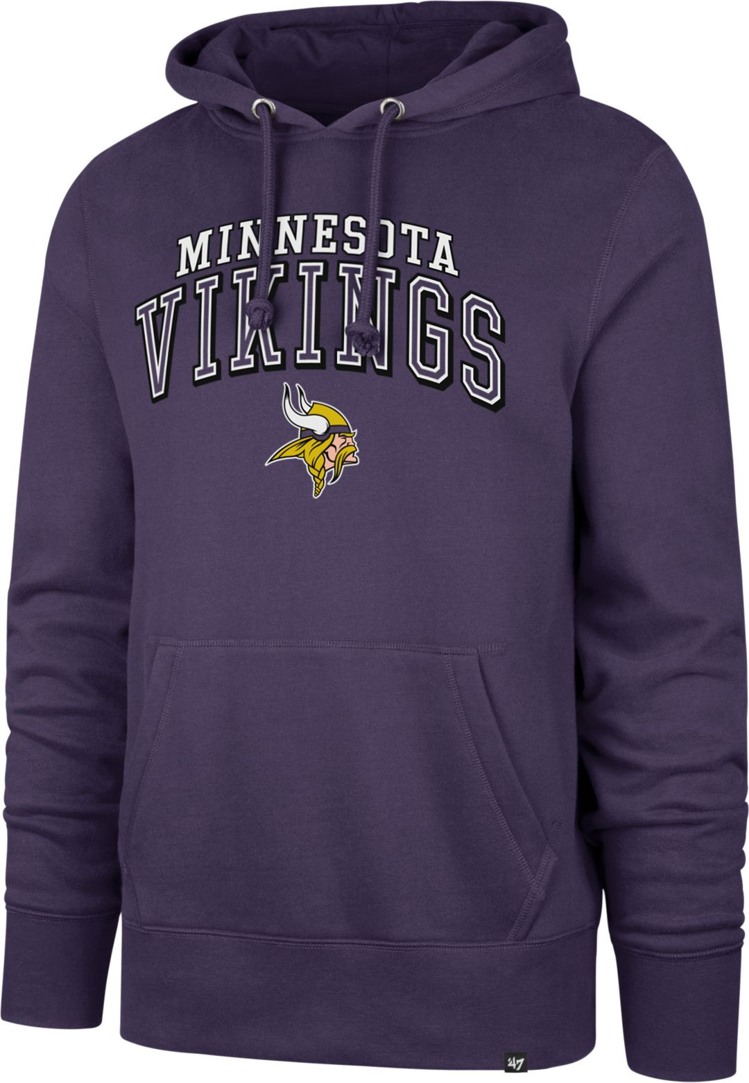 reputable site e152d 60b3d '47 Men's Minnesota Vikings Headline Purple Hoodie