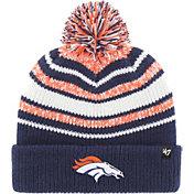 '47 Youth Denver Broncos Bubbler Navy Knit Hat