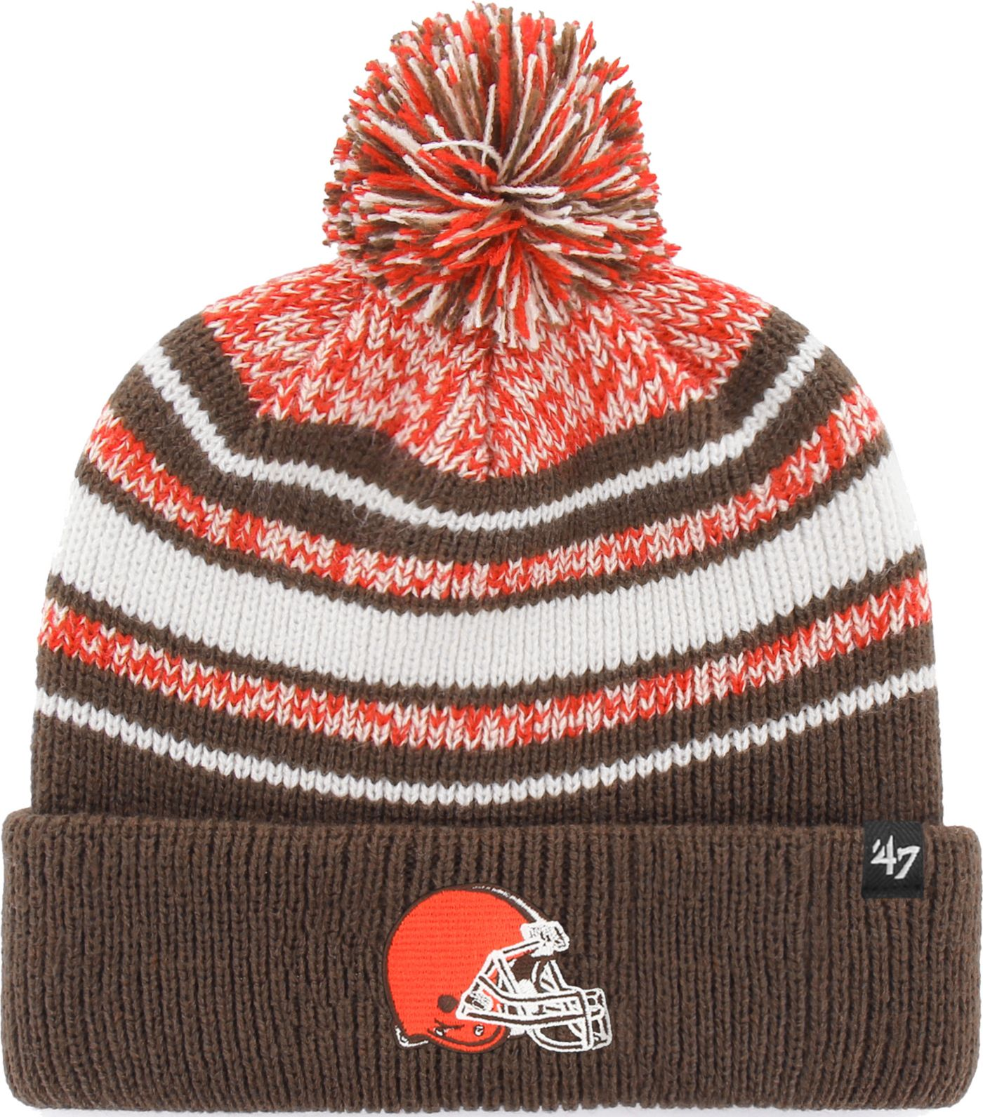 '47 Toddler's Cleveland Browns Bubbler Orange Knit