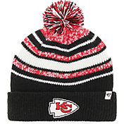 '47 Youth Kansas City Chiefs Bubbler Black Knit
