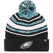 '47 Youth Philadelphia Eagles Bubbler Black Knit Hat