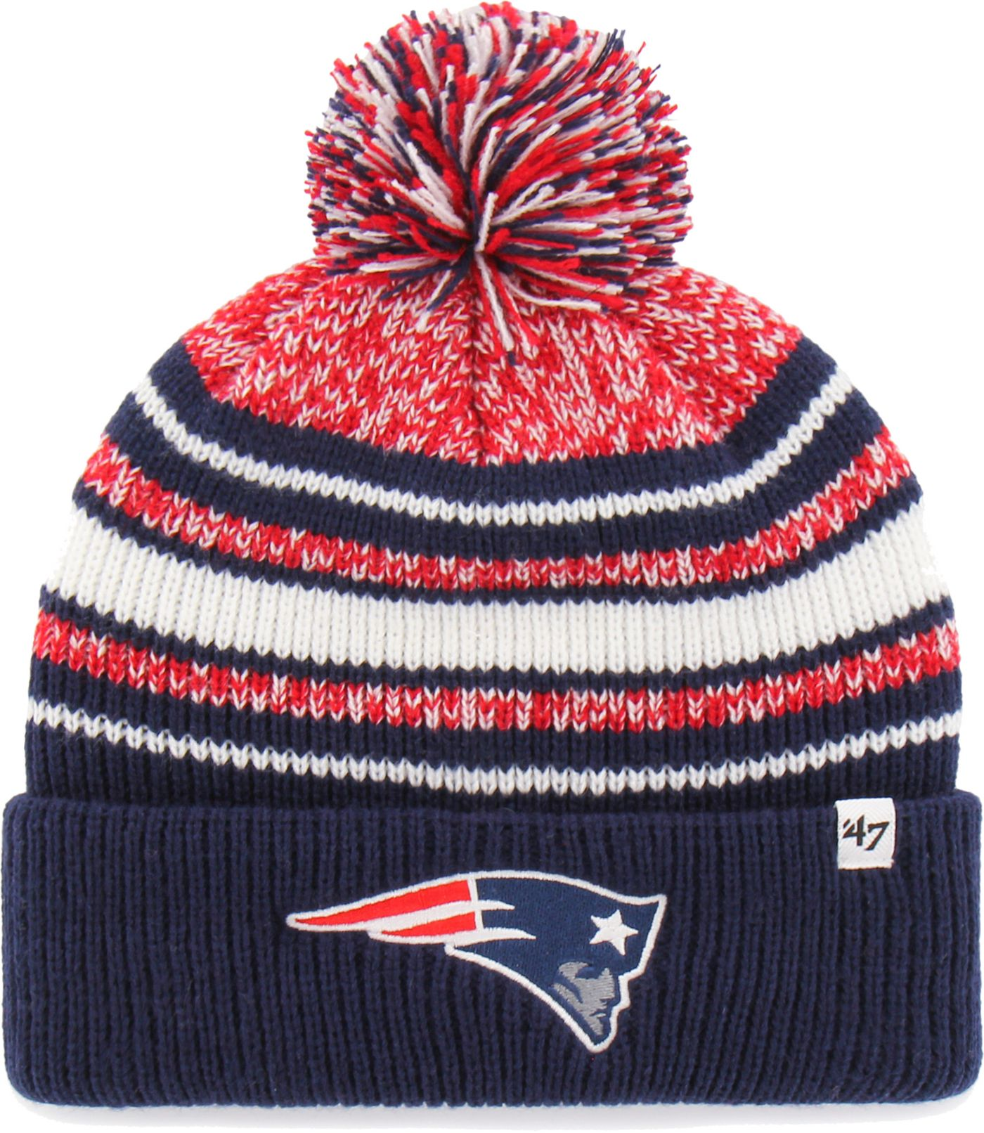 '47 Toddler's New England Patriots Bubbler Navy Knit