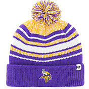 '47 Youth Minnesota Vikings Bubbler Purple Knit Hat