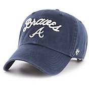 '47 Women's Atlanta Braves Melody Clean Up Adjustable Hat