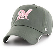 559846cda79ef Product Image ·  47 Women s Milwaukee Brewers Miata Clean Up Adjustable Hat.