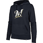 '47 Women's Milwaukee Brewers Headline Pullover Hoodie