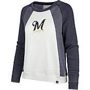 '47 Women's Milwaukee Brewers Long Sleeve Crew Shirt