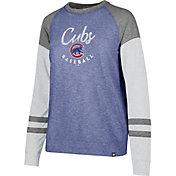 '47 Women's Chicago Cubs Match Long Sleeve Shirt