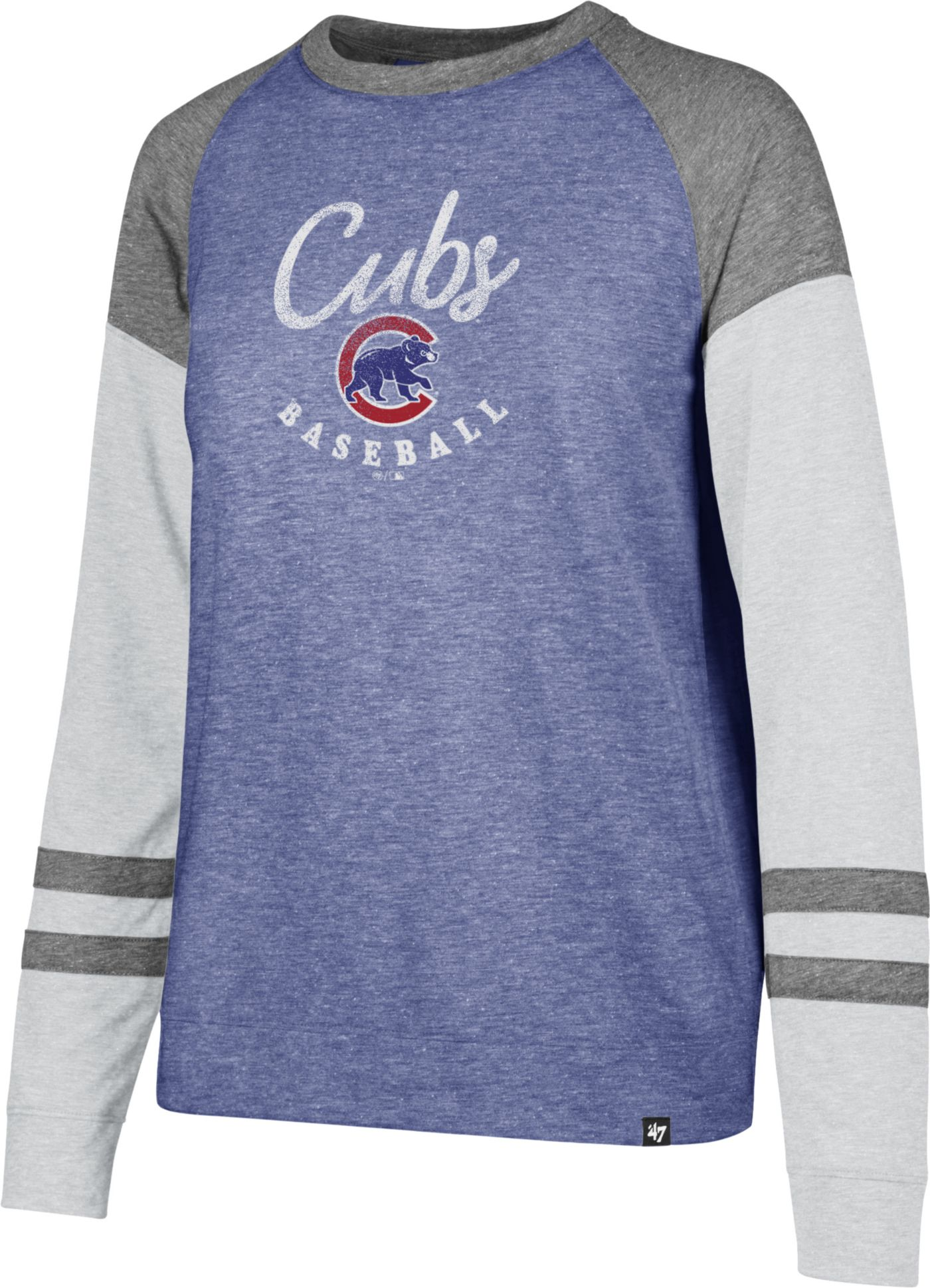 '47 Women's Chicago Cubs Match Long Sleeve Shirt