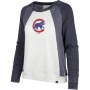 '47 Women's Chicago Cubs Long Sleeve Crew Shirt