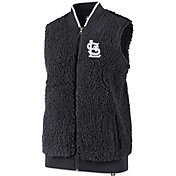 '47 Women's St. Louis Cardinals Sherpa Full-Zip Vest