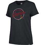 '47 Women's St. Louis Cardinals Navy Match Hero T-Shirt