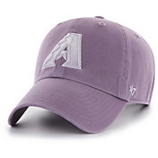 '47 Women's Arizona Diamondbacks Purple Clean Up Adjustable Hat