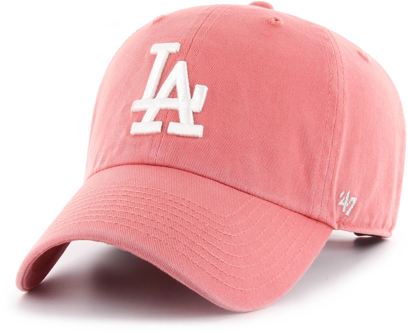 '47 Women's Los Angeles Dodgers Red Clean Up Adjustable Hat
