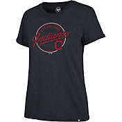'47 Women's Cleveland Indians Navy Match Hero T-Shirt