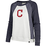 '47 Women's Cleveland Indians Long Sleeve Crew Shirt